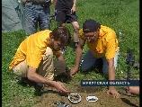 Клад найденный на слете кладоискателей в Иркутске Клад из 137 медных монет