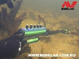 Подводный поиск c металлоискателем Excalibur. www.kladtv.ru
